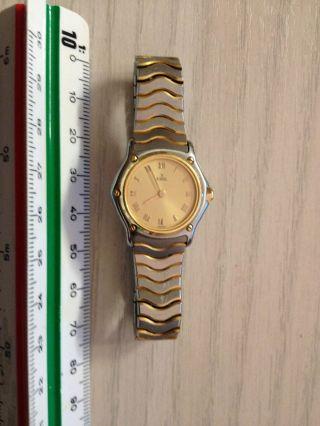 1x Armbanduhr Ebel 18k Gold Swiss Damenuhr Bild