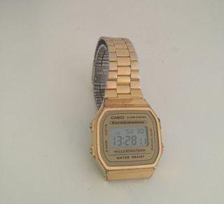Casio Gold Retro Uhr Bild