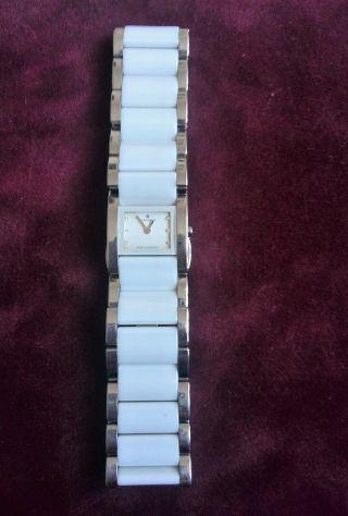 Junghans Damenuhr Ceramic - Stahl 047/1510.  44 Mit 6 Diamanten Bild