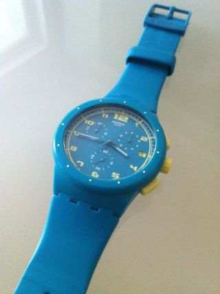 Swatch Uhr Chrono Plastic Acid Drop (susl400) Bild