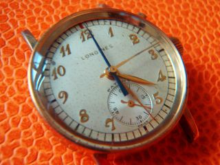 Extraordinary And Rare Longines Fly Back Flyback Chronograph 12.  68z Bild