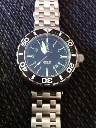 Deep Blue Daynight T100 Tritium H3 Diver Uhr Bild