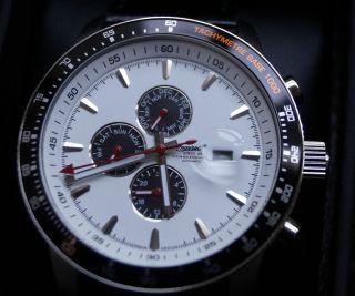 Ingersoll Presidios Hochwertige Armband Uhr Automatik In1219wh Ovp Bild
