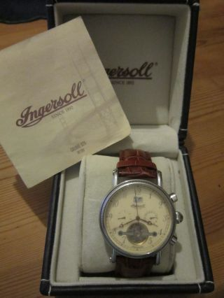 Ingersoll Herrenuhr Richmond In1800cr Bild