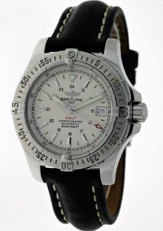 Breitling Colt Aeromarine A17380 Automatik Chronometer Edelstahl Box&papiere Bild