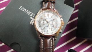 Jacques Lemans Herrenuhr Chronograph Liverpool 1 - 1117 Mn Klassisch - Elegant Bild