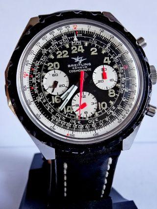 Breitling Geneve Cosmonaut 24 Stunden Anzeige.  Selten. Bild
