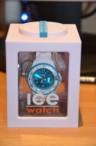 Ice - Watch Ice - Sili Ice - White Armbanduhr Für Unisex (si.  Wt.  U.  S.  11) Von Privat Bild