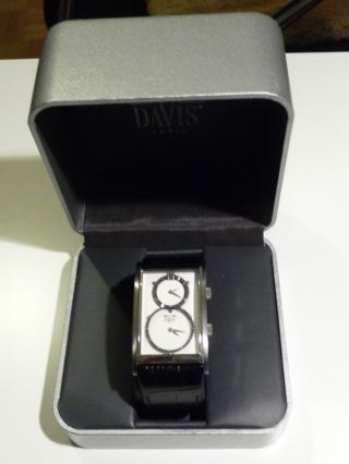 Davis Herrenuhr,  Armbanuhr,  Dual Timer 1321 Bild