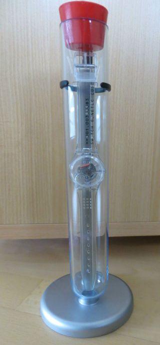 Swatch Genetic Code (gz164) Swatch Club Uhr 2000 Und Ungetragen Bild