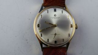Junghans Armbanduhr Mit Junghansband,  17 Jewels,  Handaufzug Bild