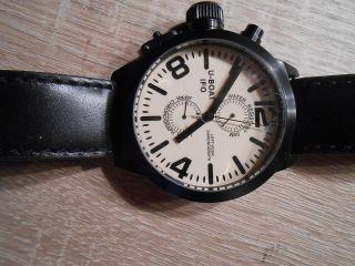 U - Boat Ifo Left Hook Chronograph A48 - Bk - C Italo Fontana Special Edition Nr.  250 Bild