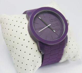 Diesel Damen Armbanduhr Dz 1438 Silikon Mit Geschenk Box, Bild
