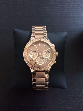 Dkny Damen Armbanduhr Rosegold Ny8486 Wie Bild