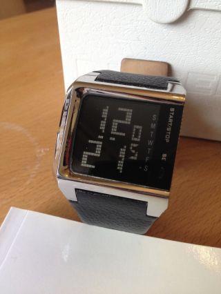 Diesel Dz 7094 – Armbanduhr Herren – Digital – Schwarz – Lederarmband Bild