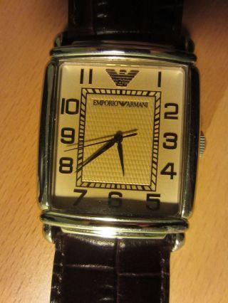 Armani - Uhr Mit Zertifikat Bild