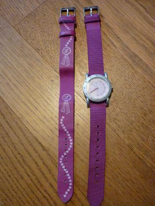 Esprit Kinderuhr Armbanduhr Kinder Rosa Pferde Pony Bild