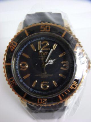 Tomwatch Basic Gold 44 Wa 00117 Black Gl.  Prod.  Wie Kyboe Uvp 49,  90€ Bild