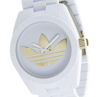 Adidas Unisex Armband Uhr Santiago Weiß Adh2799 Bild