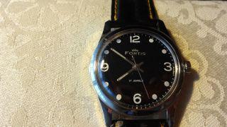 Fortis Handaufzug,  Uhrwerkskal.  Fhf 96 N Bild