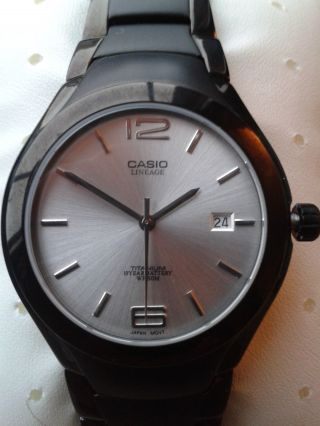 Casio Herrenarmbanduhr - Lineage Titan,  Lin - 169bk - 7av,  Ungetragen Bild