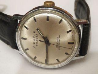 Kienzle Selecta Herrenuhr Handaufzug 60er Jahre Klassiker Sammlerstück Uhr Läuft Bild