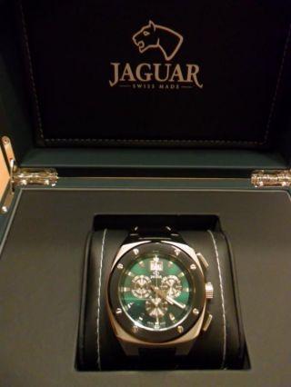 Jaguar Swiss Made Chronograph,  Herrenuhr,  Neuwertig Bild