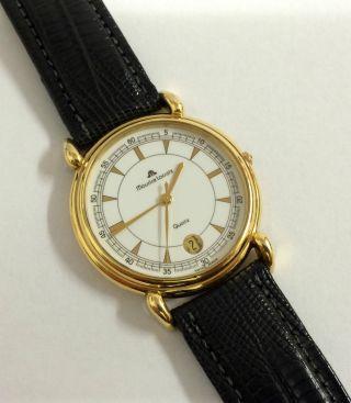 Maurice Lacroix Quarz Herren Armbanduhr,  Mod.  : 92124. Bild