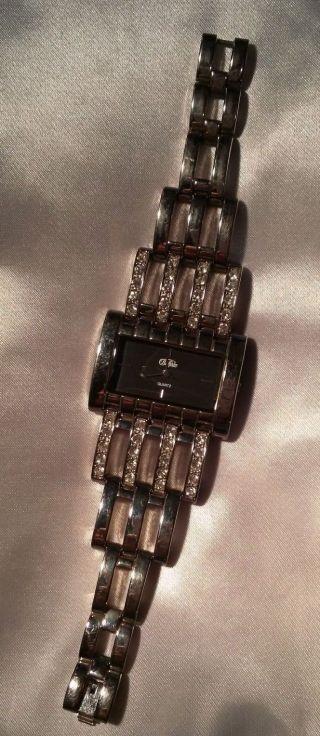 Silberne Buffalo Armbanduhr Bild