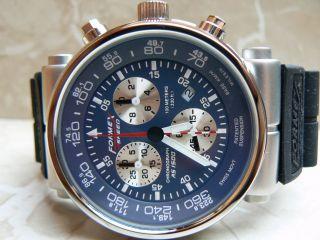 Formex 4 Speed Xl Taucheruhr As1500 Chronograph 10 Atm Herrenuhr Edelstahl Uhr Bild