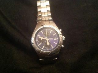 Fossil Armbanduhr Herren Chrono Edelstahl Bild