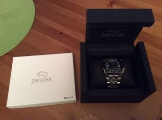 Jaguar Uhr L Dato Herrenuhr Swiss Made J638/a Grünes Ziffernblatt Bild