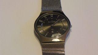 Skagen Designs Titanium 233xlstm Armbanduhr Für Herren Bild