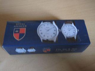 Royal Spencer 2 Elegante Armbanduhren Für Sie Und Ihn Bild