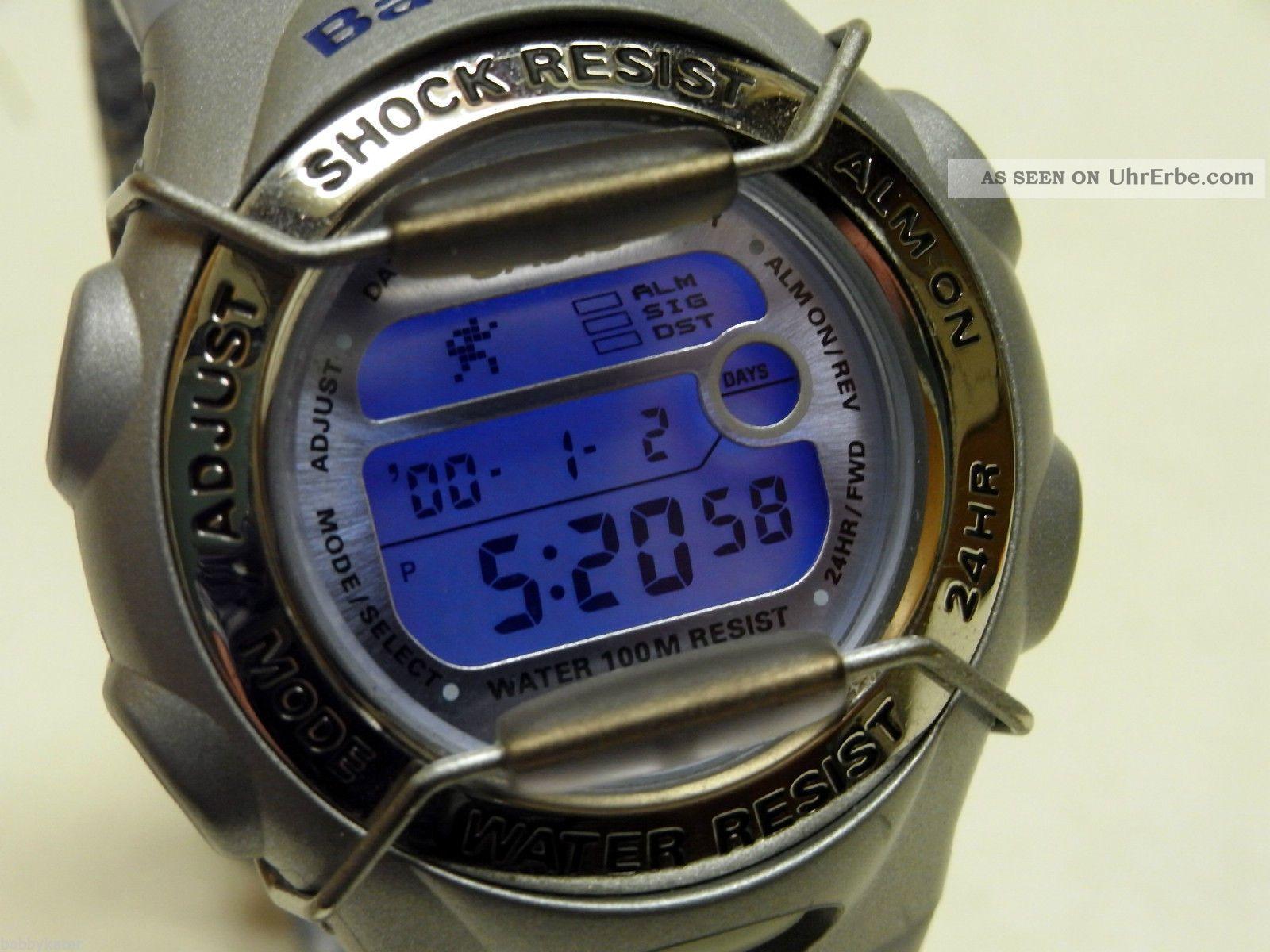 Casio Baby - G Bg - 173 V Hellblau - Silber Jeans Armbanduhren Bild