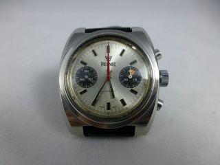 Precimax Chronograph Valjoux 7733,  Handaufzug,  Edelstahl,  Vintage 1971 - 83 Bild