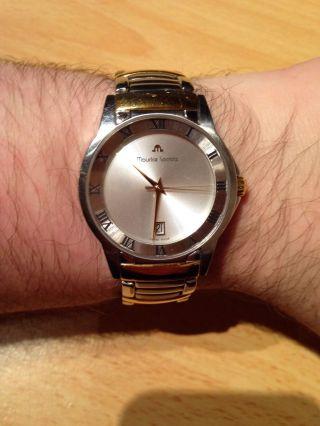 Maurice Lacroix Miros Herren Uhr - Modell: Ml1016 Bicolor Np.  795euro Bild
