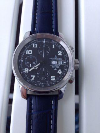 Revue Thommen Airspeed Xxl Automatik Chronograph Valjoux 7750 Bild