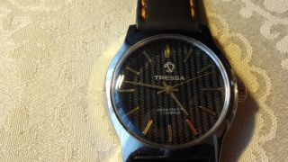 Tressa Handaufzug,  Uhrwerk Fhf 96 Bild