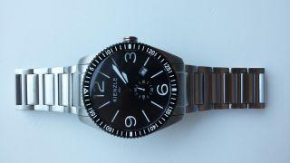 Kienzle Swiss Made Armbanduhr,  Edelstahl,  100 M Wd,  Mit Wechselband,  Neuwertig Bild