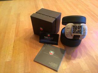 Tag Heuer Monaco Chronograph Automatik Mit Datumsanzeige - Bild