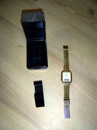 Ddr,  Glashütte,  1981,  Duoquarz,  Quarz,  Hybriduhr,  Uhr,  Ruhla,  Wecker,  Chronometer,  Gdr,  Veb Bild