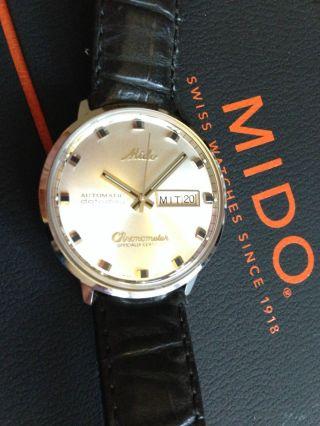 Mido Commander Ocean Star Datoday Bild