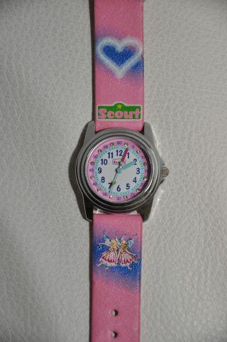 Scout Armbanduhr Kinder,  Ovp Rosa Mädchen Uhr Bild