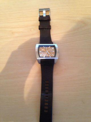 Diesel Armbanduhr Mit Lederband Bild