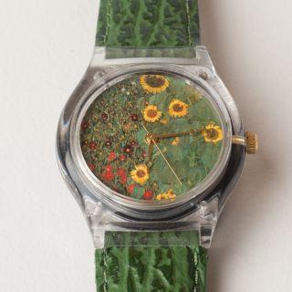 Laks Watch | Gustav Klimt - Bauerngarten | 4648 / 5000 Bild