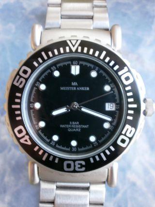 Meister - Anker Armbanduhr Sportuhr Einsatzuhr Mit Kompass Bild