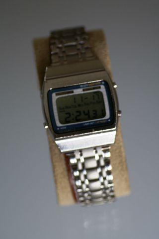 Seiko A 229 - 5000 Chronograph,  Digital Quartz,  70er Jahre,  Volle Funktion Bild