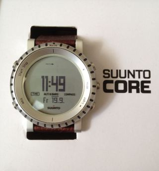 Suunto Core Alu - All - In - One Outdooruhr - Mit Originalverpackung,  Top Bild