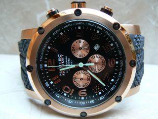 Nautec No Limit Firth Xl Chronograph 10 Atm Taucheruhr Herrenuhr Quarzuhr Uhr Bild